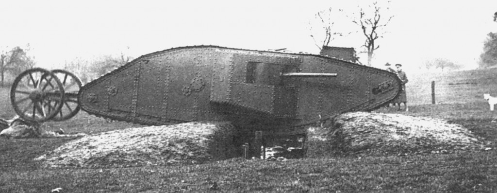 MkITankMotherHatfieldPark1916