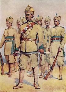 33rd_Punjabi_Army_(Commander_Punjabi_Subadar)_by_A_C_Lovett