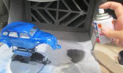 缶スプレーを使ったプラモデル塗装のコツ☆